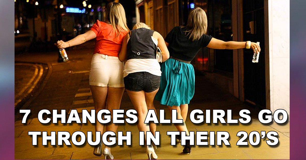 7 Biggest Changes All Girls Go Through in Their 20's