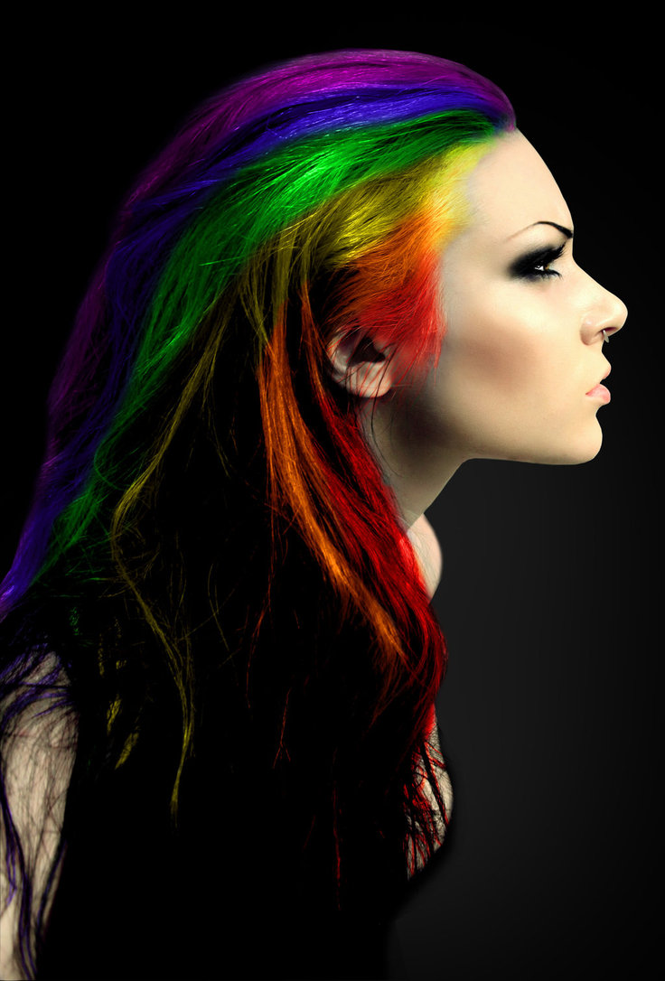 17 Reasons Rainbow Hair Is All The Rage With A