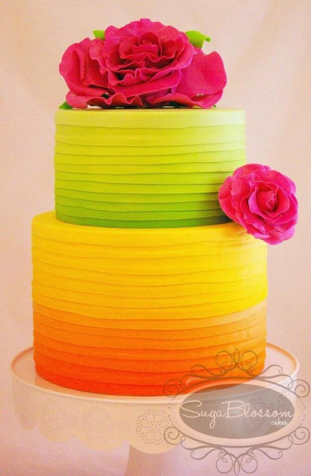 51 Stunning Ombre Wedding CakesRelationship Surgery Page 2 ...