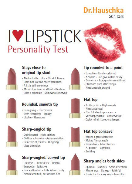 The Lipstick You Should Buy, Based on Your Myers-Briggs